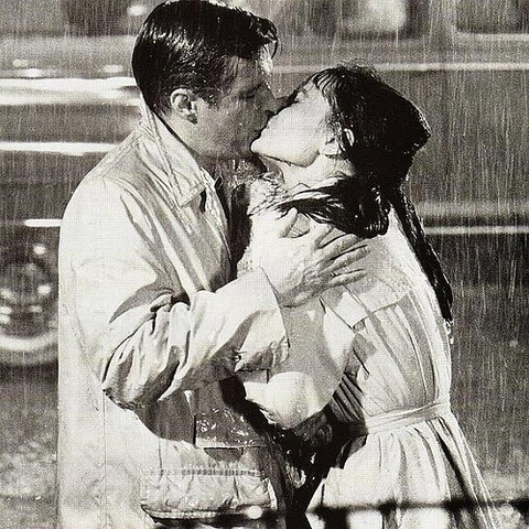 """Their mad dash to the awning wasn't fast enough, and, when they arrived, water dripped down their faces.  Parker turned to face Amber, trying hard not to appreciate how good she looked wet.  """"The last time I saw you that soaked you were trying to drown,"""" Parker said. #HarlequinKISS #romance"""