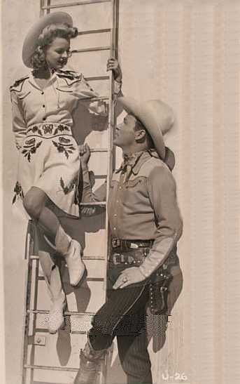 Roy and Dale in Bells of Rosarita, 1945