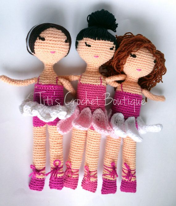 Amigurumi ballerina doll. Amigurumi Pinterest