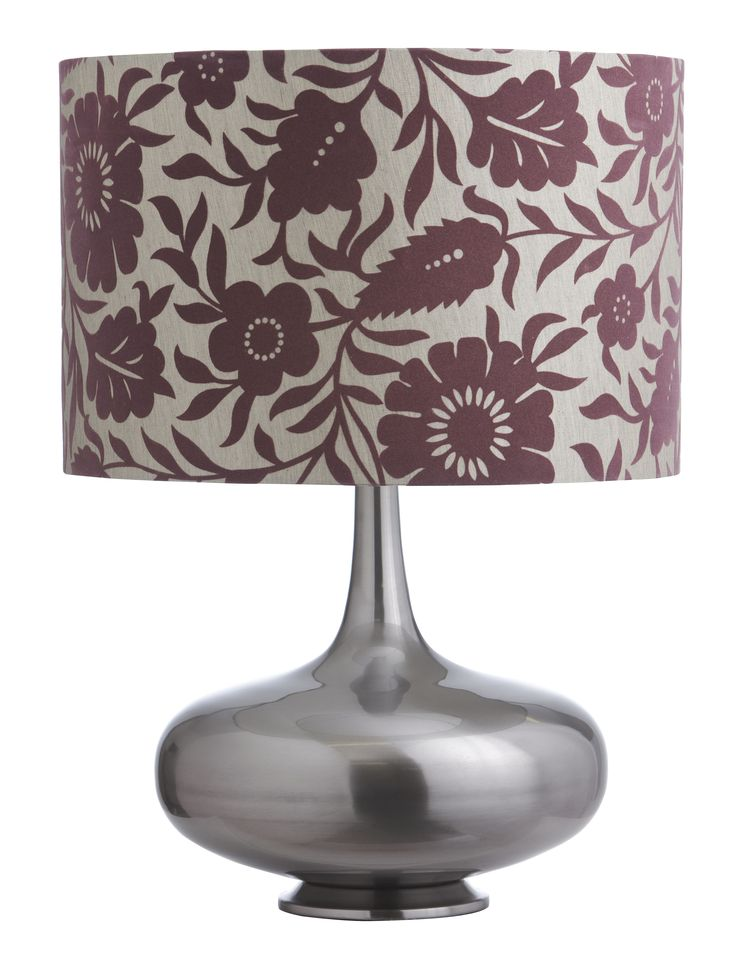 With a beautiful floral design in a mid brown and a neutral coloured shade, with a sleek and shapely metal base, Dare Gallery's Brijit Floral Table Lamp will add a warm earthy look to your home this season.  Price $249.