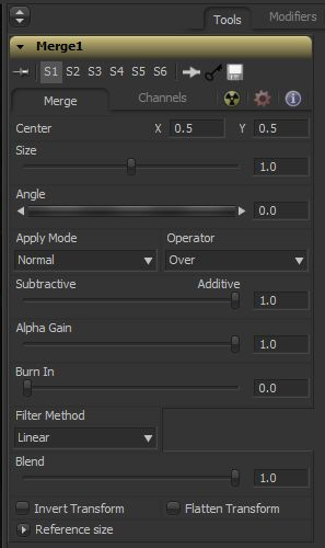 This is a brief breakdownof the maths behind Fusion's Merge Tool. The Operator modes are well documented. But, I've done some digging around to uncover the maths behind the Apply mode, Alpha Gain and Burn In. Eyeon Fusion's Merge tool … Continue reading →