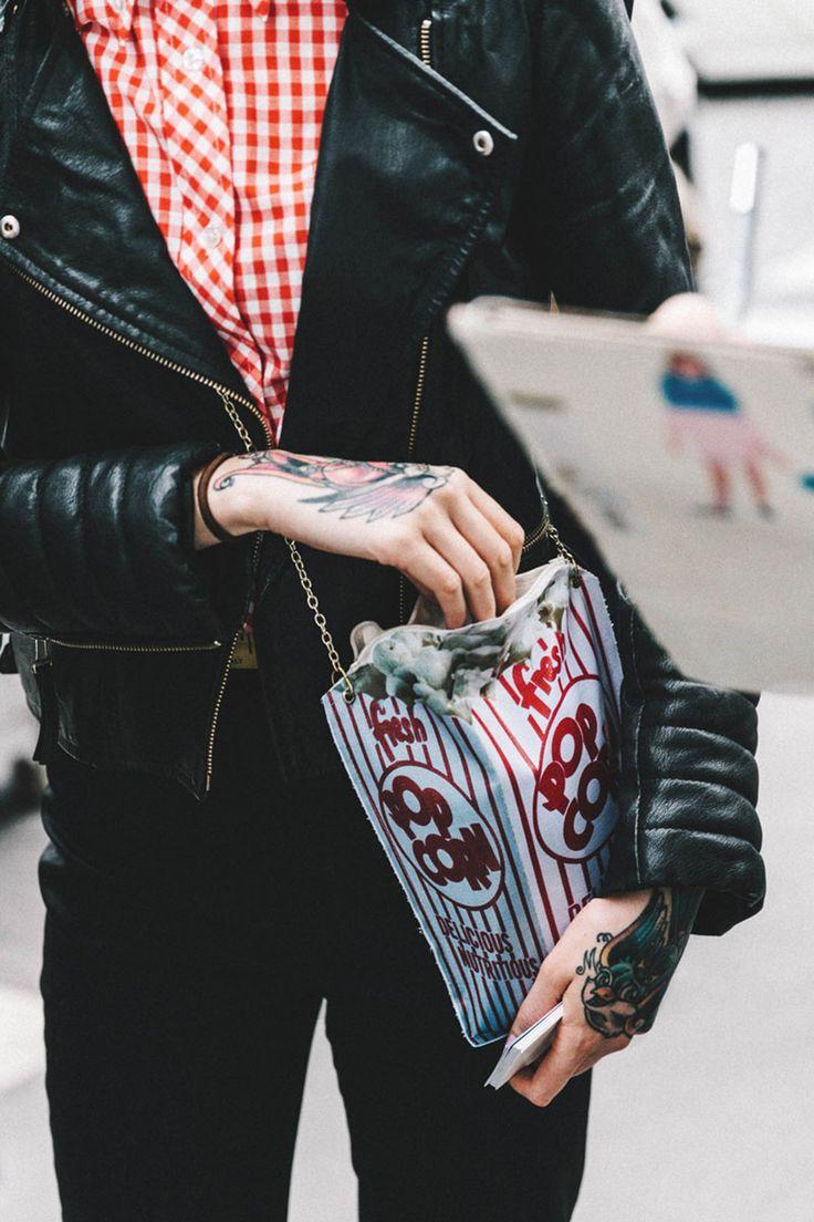Tatuajes, palomitas y rockabilly