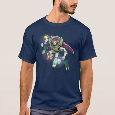Toy Story | Buzz Lightyear Decorating Christmas T-Shirt - tap, personalize, buy right now!