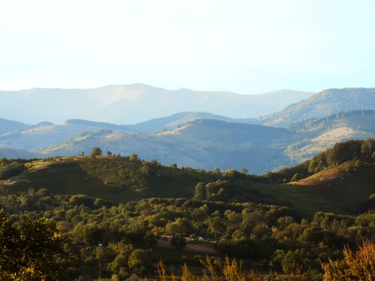 Beginning of autumn, Romania, Mehedinti county