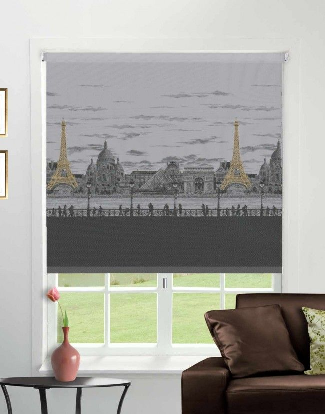CityScape Paris Roller Blind - Direct Order Blinds UK