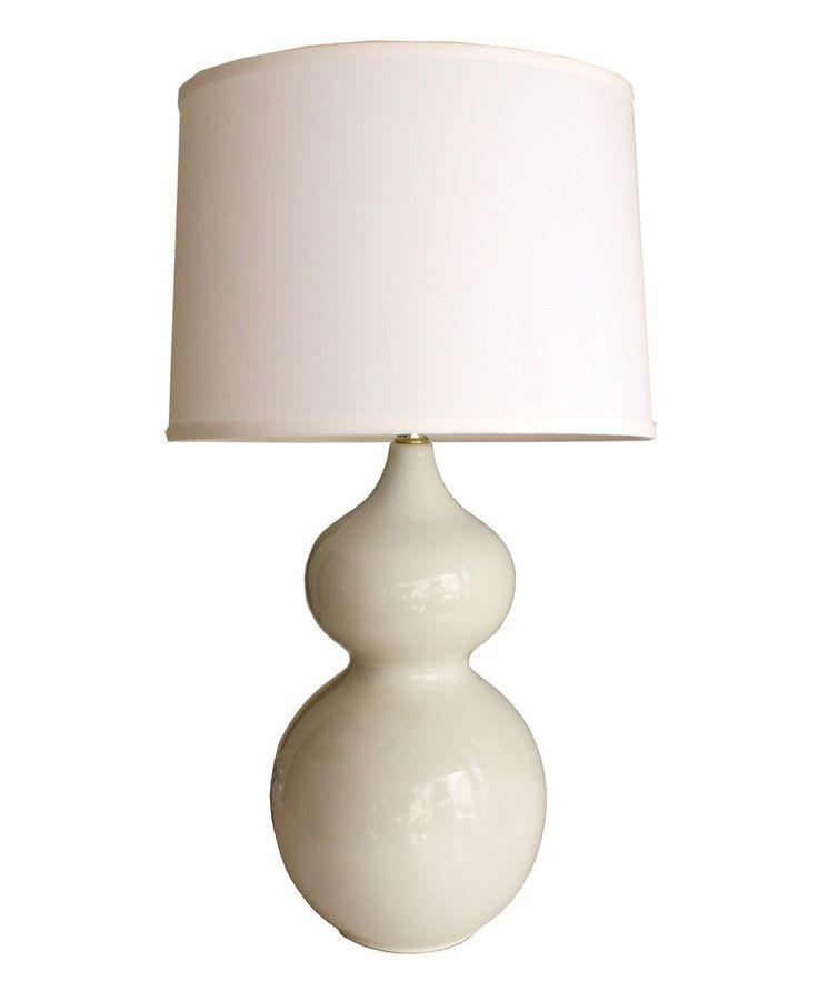 Gibson Gourd Table Lamp, White $145: White 145, Living Rooms, Table Lamps, Megan Bynum, Bedside Lamps, Living Room Lamps
