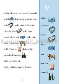 Logopedické pexeso a obrázkové čtení B - P - N - D - F - V - K - H - CH - ĎŤŇ | www.logopedie-vendy.cz