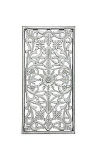 INDIAN HAND CARVED 40X80CM WALL ART