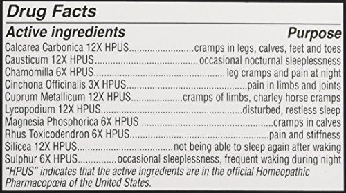 Hyland's Night Time Leg Cramps PM Tablets, Natural Cramp Pain Relief wjointpainrelief