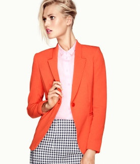 Orange Blazer's are in as seen in Jodi Breakers adorned by Bipasha Basu