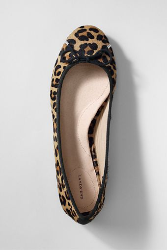 Land's End Leopard Ballet Flats - The most comfortable ballet flats I have ever worn! :)