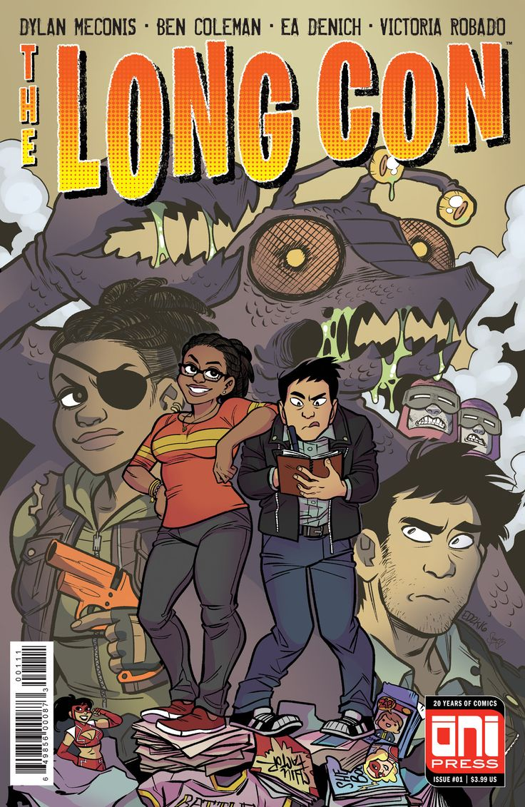 Press Release - Oni Press Announces A New Nerdy Post-Apocalyptic Series 'The Long Con'  https://comicbastards.com/comics/oni-press-announces-a-new-nerdy-post-apocalyptic-series-the-long-con  #comics
