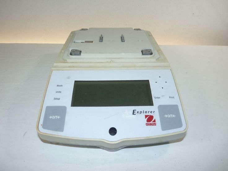 Ohaus Explorer E0h110 8100g Max Capacity Digital Scale Does Not Power On As-is