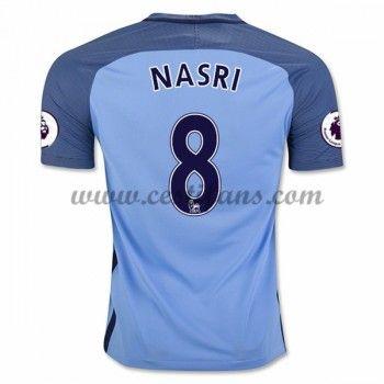 Manchester City Fotbalové Dresy 2016-17 Nasri 8 Domáci Dres
