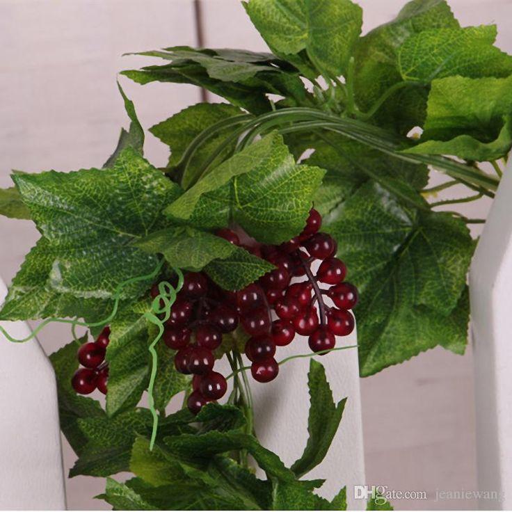 excellent long vine house plant. Long Artificial Plants Green Ivy Leaves Plastic Vine Grape  Leaf Hanging Silk 14 best decor vine images on Pinterest Plant and Diy flower