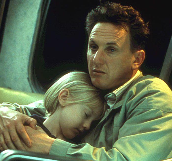 """Sean Penn y Dakota Fanning en """"Yo Soy Sam"""" (I Am Sam), 2001"""