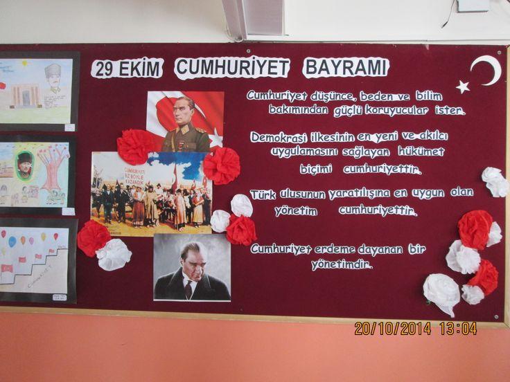 29 Ekim Cumhuriyet Bayramı panosu İnsan  #BİLGE#