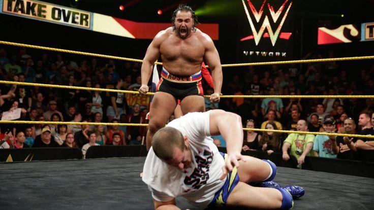 NXT Alexander Rusev HD Image