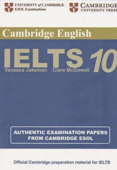 Cambridge Practice Tests for IELTS 10 Pdf +Audio +Answer Key - eStudy Resources…
