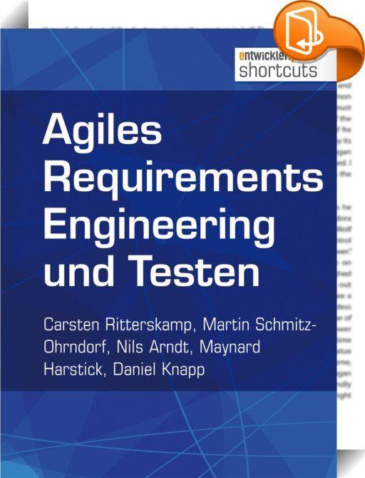 Agiles Requirements Engineering und Testen    ::  Agiles Requirements Engineering hat sich in der Praxis bewährt. Im Vergleich zu nicht agilen Vorgehensweisen werden die an das Ergebnis gestellten Erwartungen nahezu immer erfüllt, wie das erste Kapitel am Beispiel von Scrum darlegt. Im zweiten Kapitel soll der Frage nachgegangen werden, warum agiles Testen und guter Code ein schönes Paar sind. Als Fazit lässt sich festhalten, dass agiles Testen den Entwickler dabei unterstützt, guten C...