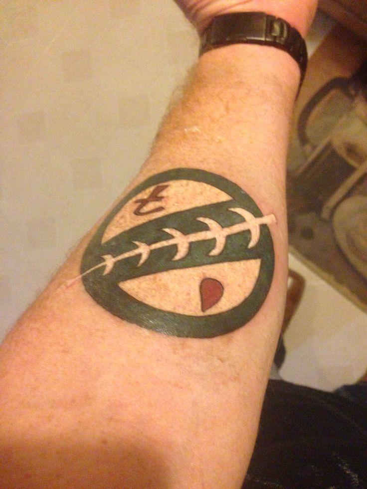Mandalorian Tattoo: My Mandalorian Crest Tattoo