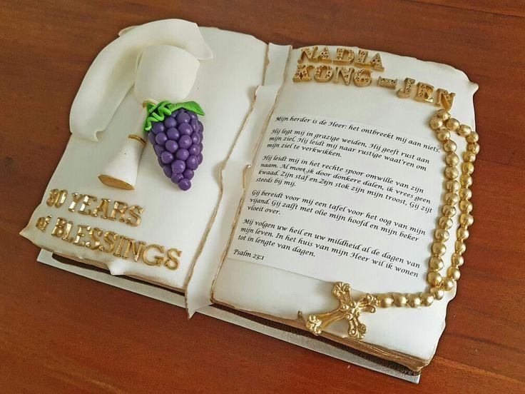 Bible cake / Bijbel taart