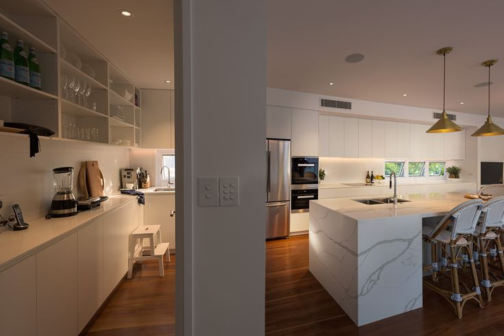 Coorparoo Renovation | Kitchen + Butlers Pantry | Queensland Australia | Smith Architects