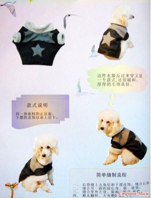 Chaqueta con yugo para perro + estampado.   COSTURA-PATRONES   Pinterest
