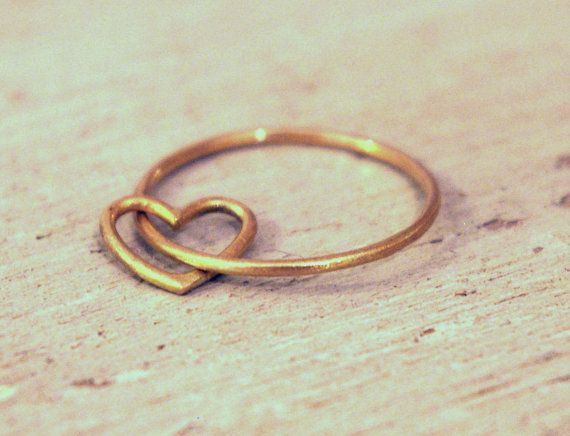 Hey, I found this really awesome Etsy listing at https://www.etsy.com/listing/87707416/love-18-k-gold-ring