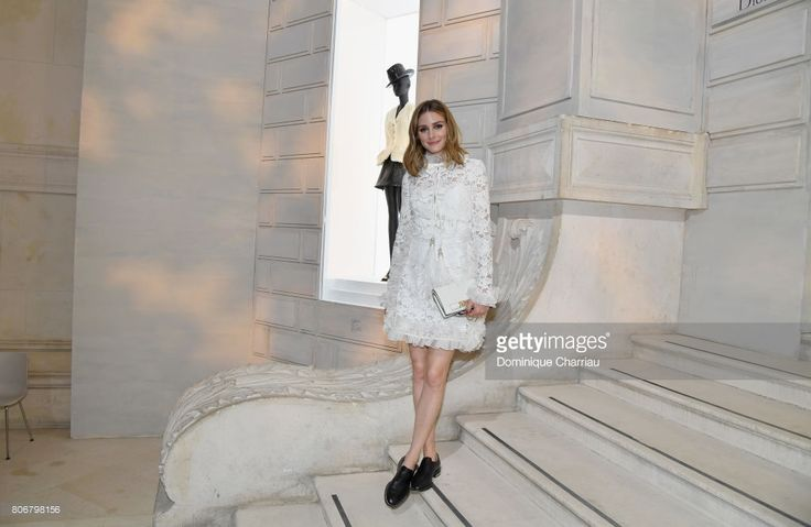 Olivia Palermo attends 'Christian Dior, couturier du reve' Exhibition Launch celebrating 70 years of creation at Musee Des Arts Decoratifs on July 3, 2017 in Paris, France.