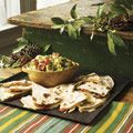Roasted Red and Green Pepper Quesadillas  From: goodhousekeeping.com  Tri[le-tested at the Good Housekeeping Research Institute  Via: delish.com