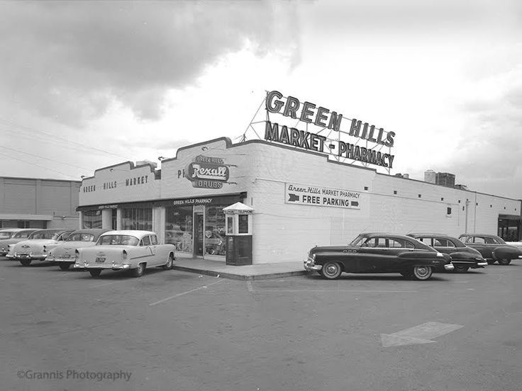 The Green Hills Market & Pharmacy   Image: Grannis Photography Vintage Collection