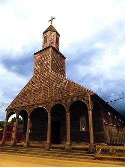 Achao church, Chiloé, Chile