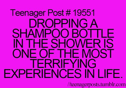 No slipping in the shower is