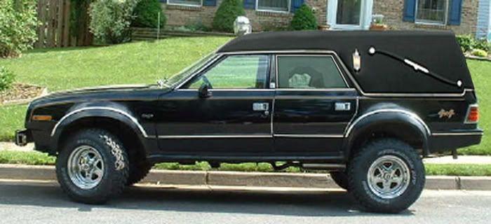 AMC Eagle Off Road Hearse???  Crazy!