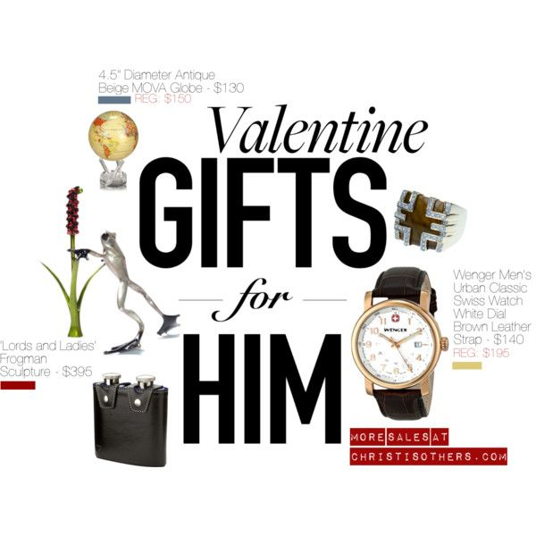 Valentine's Day #GiftIdeas #ForHim by christisothers on Polyvore