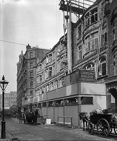 Harrods, Hans Place, Chelsea, London 1909