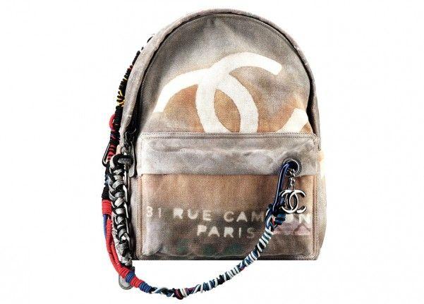 Sac à dos Chanel - http://www.newsluxe.com/sac-a-dos-chanel/