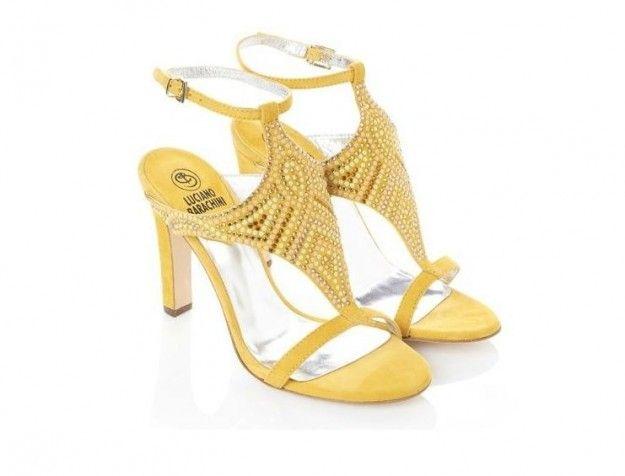 Sandali gialli con perlineLuciano Barachini