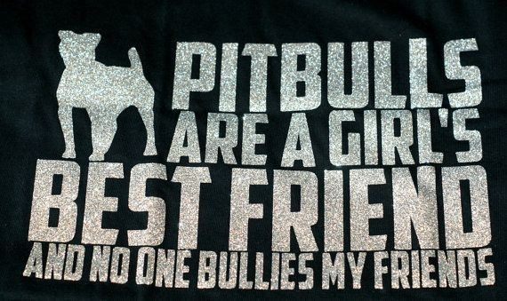 Don't bully my breed! Pit bull awareness month!