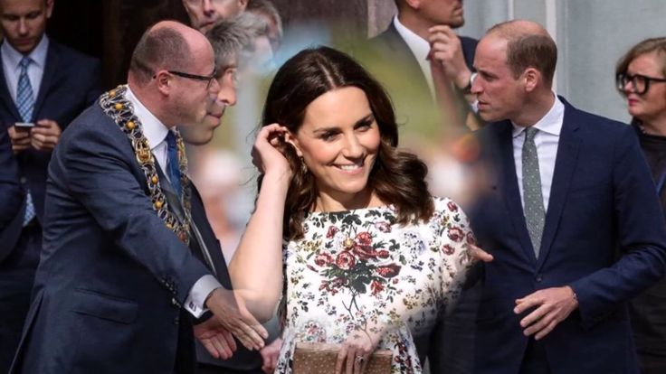 kate middleton and  prince william They smiled  their best smiles