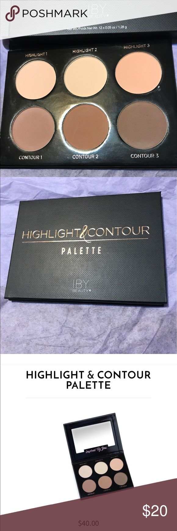 New IBY Contour Palette New and never swatched Highlight and contour palette IBY Beauty Makeup Luminizer