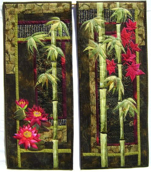 Mary Transom - Quilt Artist A Touch of the Orient