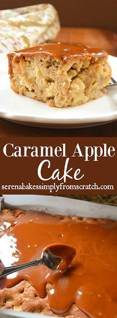 Karamell Apfelkuchen Rezept mit Schritt für Schritt Anleitung! Dies ist ein Muss! S …   – Blogger Recipes We Love