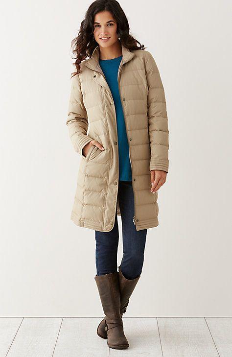 Stockbridge long down puffer coat