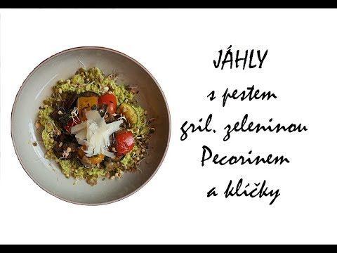 Originální recepty podle LU: Jáhly s pestem, grilovanou zeleninou a klíčky - YouTube
