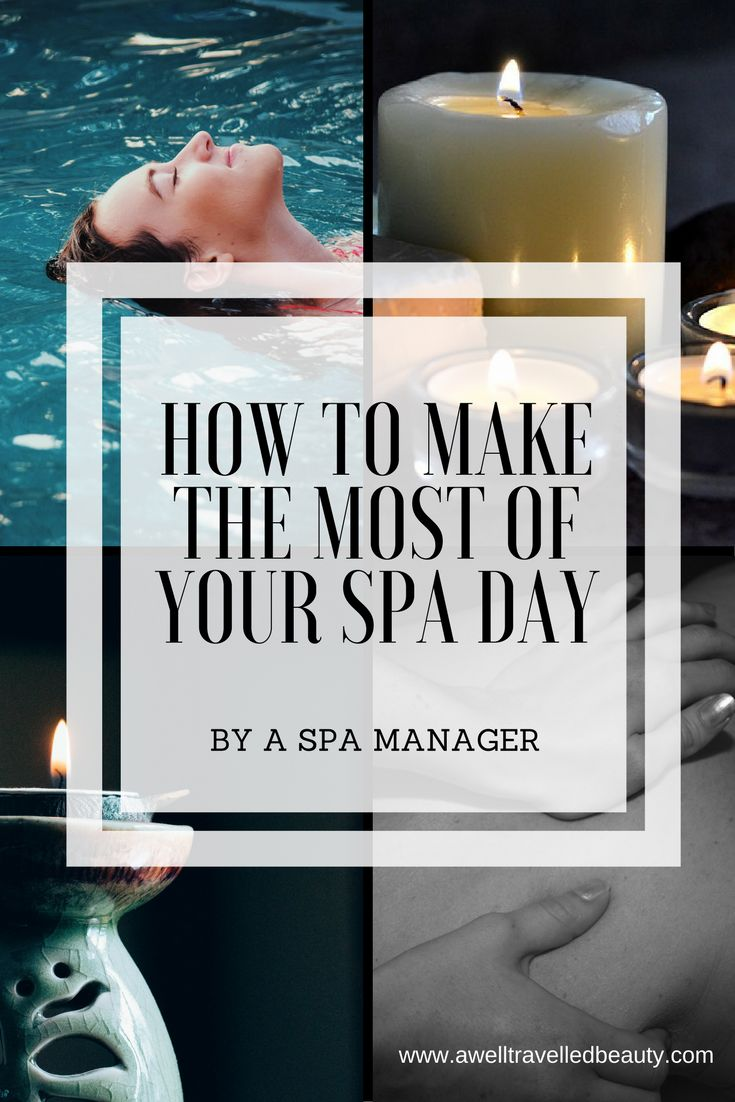 I've worked in many spas over the years and here are some of the tips I've learnt that will ensure you make the most of your spa day and enjoy the benefits.
