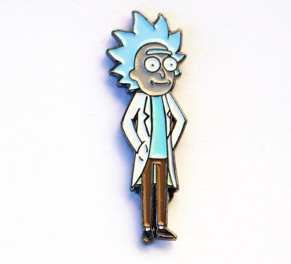 Tiny Rick – Rick & Morty Pin by RealSic on Etsy https://www.etsy.com/listing/257673086/tiny-rick-rick-morty-pin
