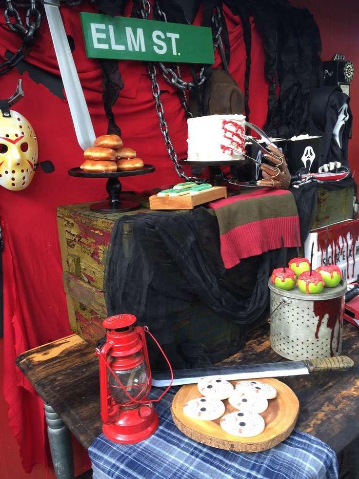 Nightmare on Elm Street, Horror, Scream, Friday the 13th Halloween Party Ideas | Photo 1 of 28