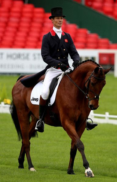 William Fox-Pitt of Great Britain rides Cool Mountain during the dressage section of the Badminton Horse Trials on May 8, 2014 in Badminton, Gloucestershire